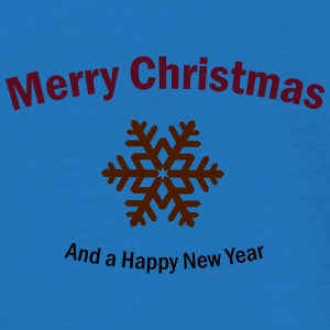 Merry Christmas and a Happy New Year Taschen & Rucksäcke - Männer T-Shirt