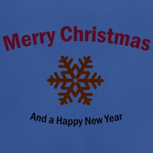 Merry Christmas and a Happy New Year Taschen & Rucksäcke - Männer T-Shirt atmungsaktiv