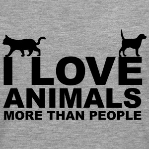I Love Animals Sweat-shirts - T-shirt manches longues Premium Homme