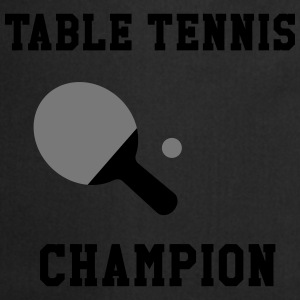 Table Tennis Champion Shirts - Cooking Apron