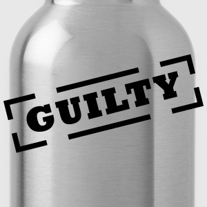 guilty T-Shirts - Trinkflasche