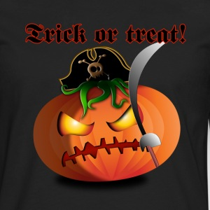jack trick or treat pirate e - Mannen Premium shirt met lange mouwen