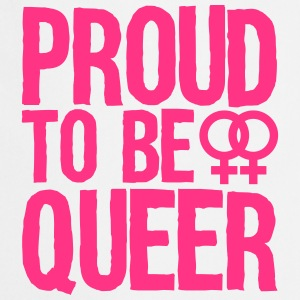 proud to be queer - lesbian T-shirts - Keukenschort