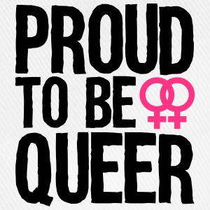 proud to be queer - lesbian T-shirts - Basebollkeps