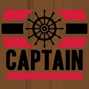 Captain Logo Design T-Shirts - Women's Premium Hoodie