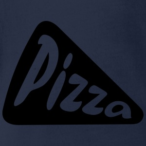 Pizza Shirts - Organic Short-sleeved Baby Bodysuit