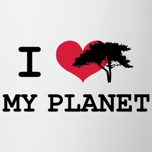 I Love my Planet Tee shirts - Tasse