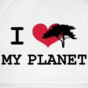 I Love my Planet Tee shirts - Casquette classique