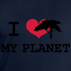 I Love my Planet Tee shirts - Sweat-shirt Homme Stanley & Stella