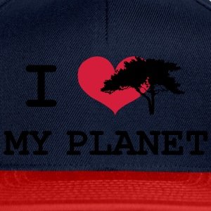 I Love my Planet Tee shirts - Casquette snapback