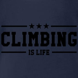 Climbing is life ! Tee shirts - Body bébé bio manches courtes