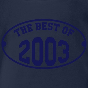 The Best of 2003 Tee shirts - Body bébé bio manches courtes