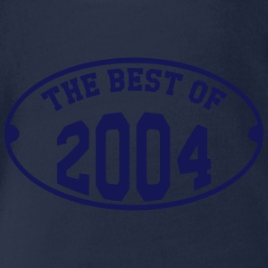 The Best of 2004 Shirts - Organic Short-sleeved Baby Bodysuit
