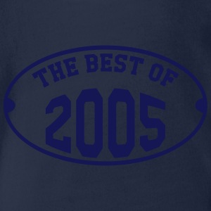 The Best of 2005 Shirts - Organic Short-sleeved Baby Bodysuit
