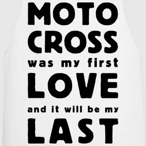motocross was my first love T-shirts - Keukenschort