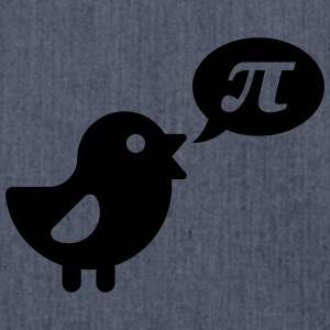 Vogel: Pi T-Shirts, Nerd T-Shirts - Schultertasche aus Recycling-Material