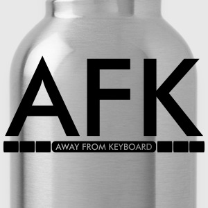 AFK - Away from keyboard T-shirts - Vattenflaska