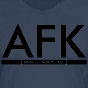 AFK - Away from keyboard T-Shirts - Männer Premium Langarmshirt