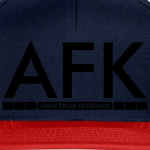 AFK - Away from keyboard T-skjorter - Snapback-caps