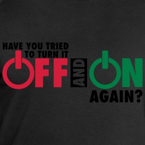 Have you tried to turn if off and on again? T-shirts - Mannen sweatshirt van Stanley & Stella