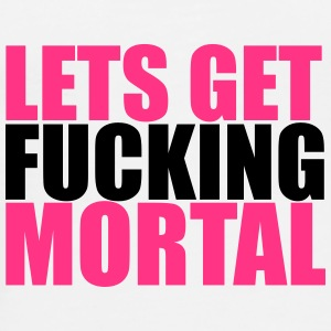 Lets Get Mortal Bottles & Mugs - Men's Premium T-Shirt