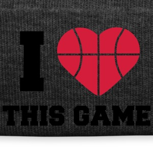 I Love This Game Basketball Logo Design T-shirts - Winterhue