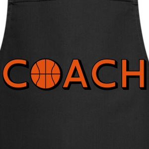 Basketball Coach Logo Design T-Shirts - Kochschürze