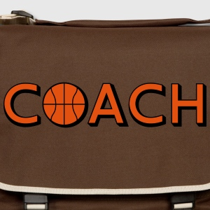 Basketball Coach Logo Design T-Shirts - Umhängetasche