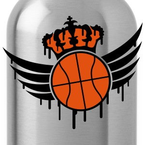 Basketball Blazon Logo Graffiti Camisetas - Cantimplora