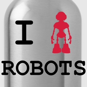 I Love Robots Tee shirts - Gourde