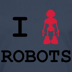 I Love Robots Tee shirts - T-shirt manches longues Premium Homme