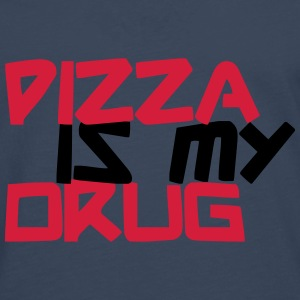 Pizza is my Drug Skjorter - Premium langermet T-skjorte for menn