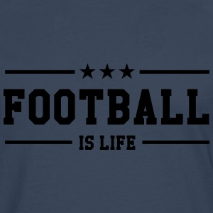 Football is life ! Skjorter - Premium langermet T-skjorte for menn