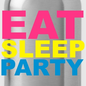 Eat Sleep Party Tee shirts - Gourde