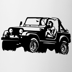 Jeep Softtop Shirts - Mug