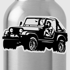 Jeep Softtop T-Shirts - Water Bottle