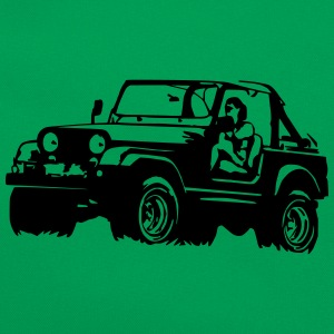 Jeep Softtop T-Shirts - Retro Tasche