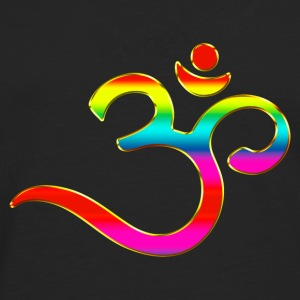 Om, Symbol, Rainbow, Buddhism, Mantra, Meditation, Sweat-shirts - T-shirt manches longues Premium Homme