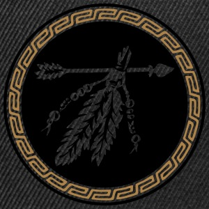 Arrow with feathers, Native American Indian tribes T-shirts - Snapbackkeps