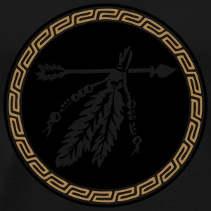 Arrow with feathers, Native American Indian tribes Sweat-shirts - T-shirt Premium Homme