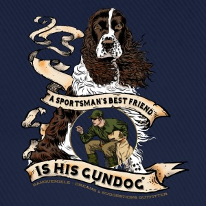 gundog_best_friend T-Shirts - Baseball Cap
