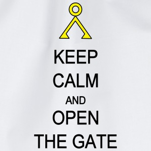 Open the Gate Phone & Tablet Cases - Drawstring Bag