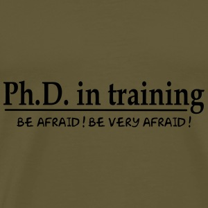 Bag PhD in training - Men's Premium T-Shirt