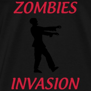 Zombies Invasions ! Pullover & Hoodies - Männer Premium T-Shirt