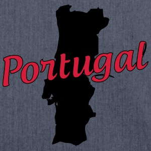 Portugal T-Shirts - Shoulder Bag made from recycled material