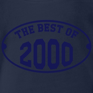 The Best of 2000 Magliette - Body ecologico per neonato a manica corta