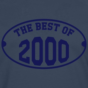 The Best of 2000 Shirts - Mannen Premium shirt met lange mouwen
