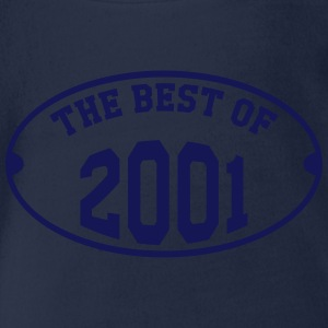 The Best of 2001 Shirts - Organic Short-sleeved Baby Bodysuit