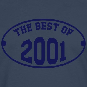 The Best of 2001 T-Shirts - Männer Premium Langarmshirt