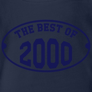 The Best of 2000 Shirts - Organic Short-sleeved Baby Bodysuit